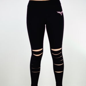 black stretch Legging sport
